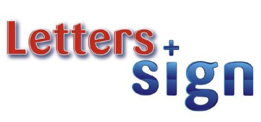 Letters + Sign